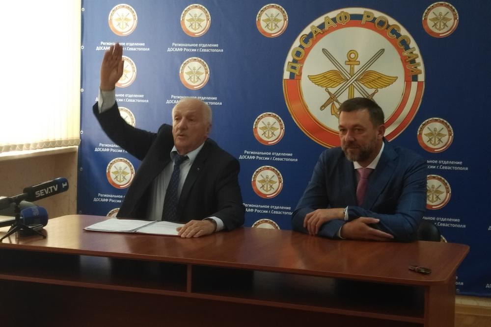 Совет выборщиков «Единой России» Севастополя возглавил руководитель ДОСААФ