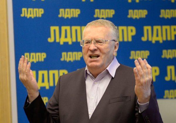 С жалобой на Жириновского обратились в Следком