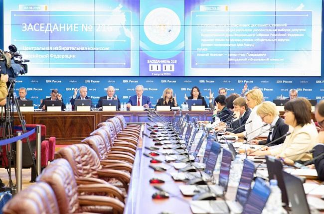 ЦИК РФ рассмотрит жалобу снятой с выборов в Севастополе партии «Зелёные»