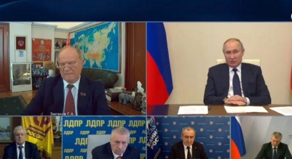 Если у «Единой России» не будет авторитета Путина, партия рассыплется — Жириновский
