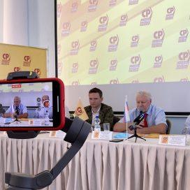 Прилепин согласовывал с Мироновым поход на съезд КПРФ с круассанами и кофе